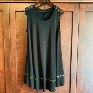 Copper gold grommet dress / top!